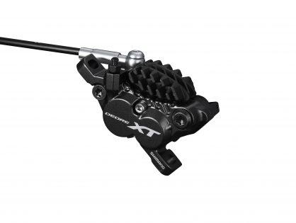 Shimano presenta las bielas Deore XT de 165mm y los frenos de 4 pistones